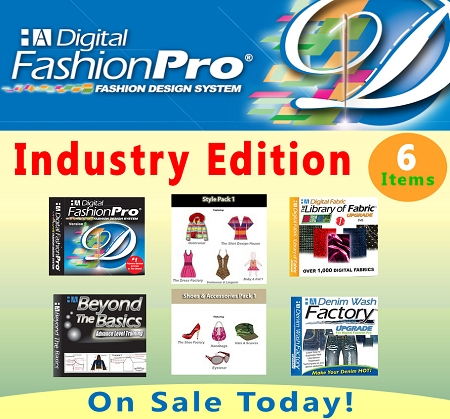 Fashion Design Software Digital Fashion Pro for Mogul Package