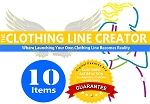 1A- THE CLOTHING LINE CREATOR PACKAGE - 10 ITEMS TOTAL (DIGITAL FASHION PRO INDUSTRY CLOTHING DESIGN SOFTWARE + CLOTHING LINE BUSINESS PACK. GO FROM ASPIRING FASHION DESIGNER TO A PROFESSIONAL CLOTHING LINE!