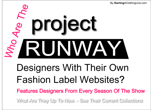Clothing Lines by Project Runway Fashion Designers