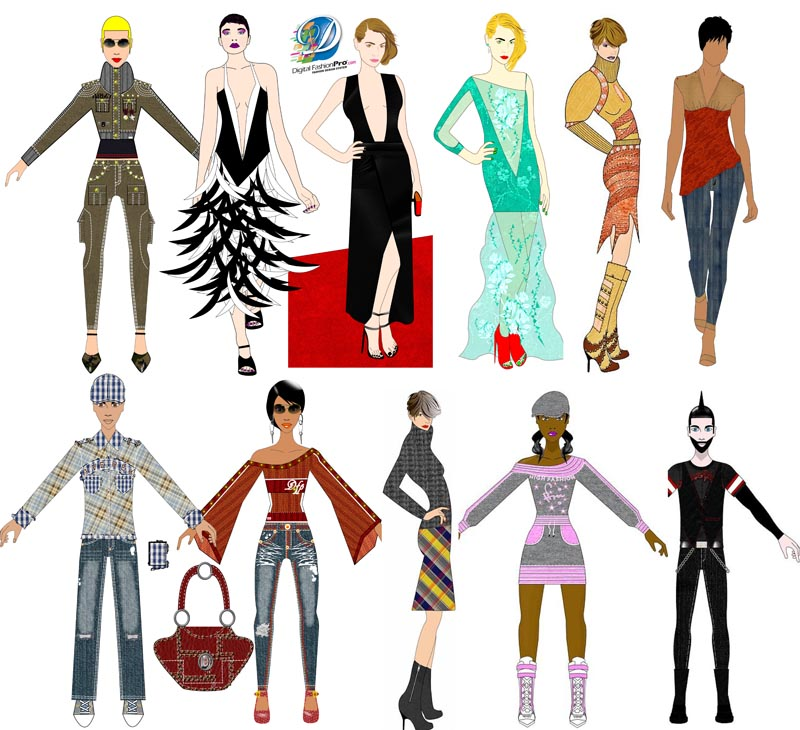 Digital Fashion Pro Best Fashion Design Software
