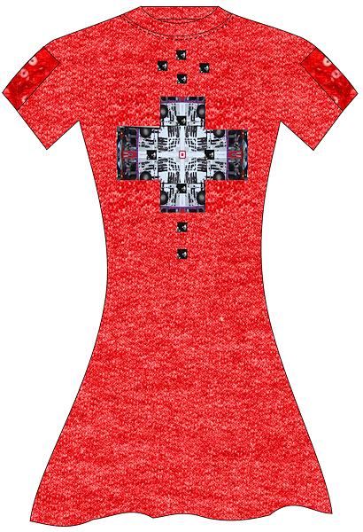 Leggings by fashion designer michael harper for Programs to design t shirts