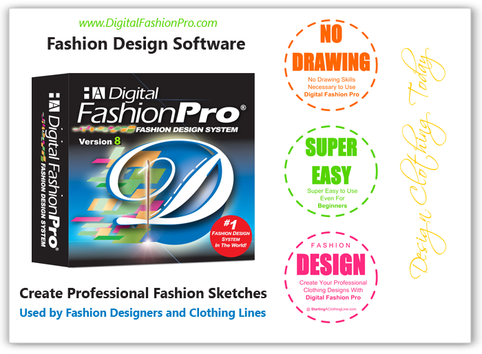 Fashion pattern design software reviews for Clothing logo design software