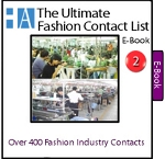 2af- Ultimate List E-Book - Over 400 Clothing Manufacturers and Fashion Industry Contacts that can make your clothing line. Buy it separately or inside of a package to save!