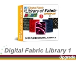 3- Digital Fabric Library V8 Edition. 1400 extra fabrics to use in your Digital Fashion Pro designs.