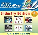 2ac- Digital Fashion Pro Industry Edition - 6 Items! Digital Fashion Pro Basic + 5 Upgrades (Style Pack, Fabric Library, Beyond the Basics, Denim Wash Factory, Shoes & Accessories)