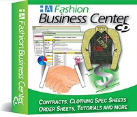 7a- The Fashion Business Center - Spec Sheets Templates, Line Sheets Templates, Clothing Line Business Plan tools. Buy it separately or inside of a package to save!