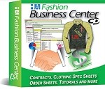 7a- The Fashion Business Center CD - Spec Sheets, Line Sheets, Clothing Line Business Plan tools