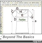 3- Beyond The Basics 1 Upgrade V8 Edition CD - Learn Advance Fashion Design + How to Create Technical Sketches and more.