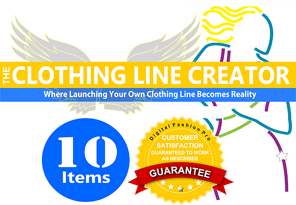 The Clothing Line Creator Package can help you start up a fashion label