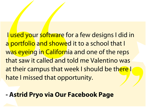 Astrid Pryo  - Digital Fashion Pro Client Testimonial