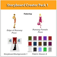 Digital Fashion Pro Fashion Storyboard Illustration Software