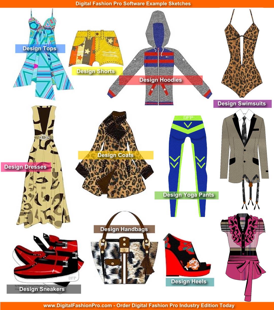 fashion design course - fashion sketch 6