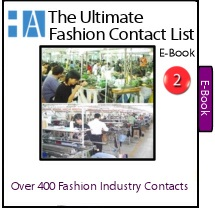 The Ultimate Fashion Contact List of Clothing Manufacturers that can work with fashion designers who are starting a clothing line