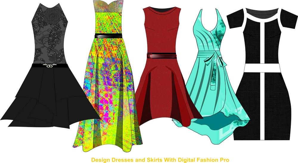 fashion design course - sketch 1