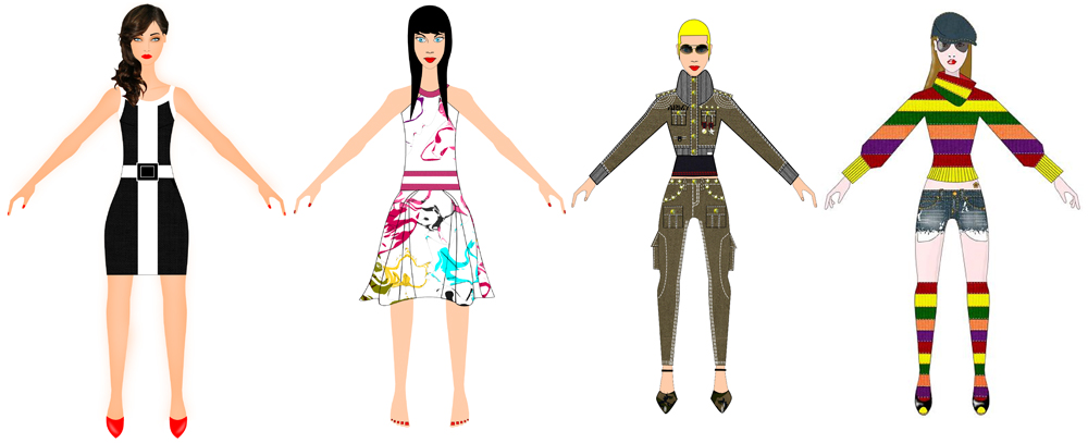 fashion design course - sketch 2