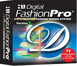 1f- Digital Fashion Pro V9 Basic - Fashion Design Software. Design Shirts, T-shirts, Jeans, Pants & Shorts for Men and Women. Includes Training. Super Easy to Use