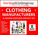 2af- Clothing Manufacturers and Fashion Supplier Contact List E-Book 2021 - Over 350 Global Contacts - Get Your Clothing Made