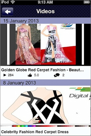 Fashion StartUp App Screenshot 2