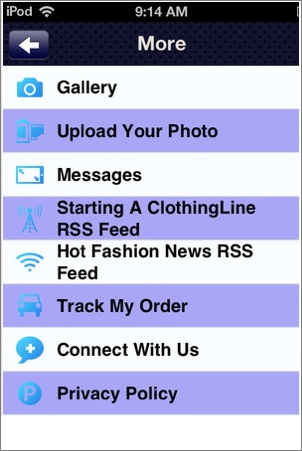 Fashion StartUp App Screenshot 3