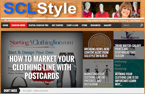 SCLStyle Website Launch