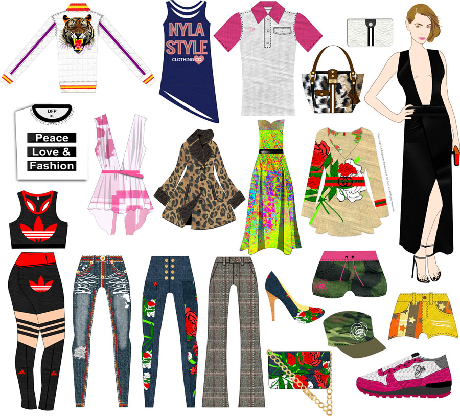 The Clothing Line Creator Package For Clothing Lines And Designers