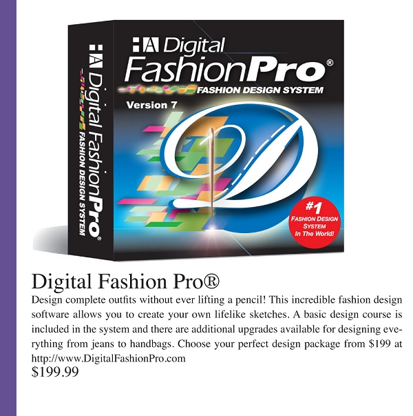 Digital Fashion Pro in Runway Fashion Magazine - Best Gift Idea