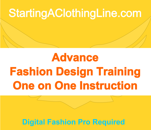 Advance Fashion Design Training