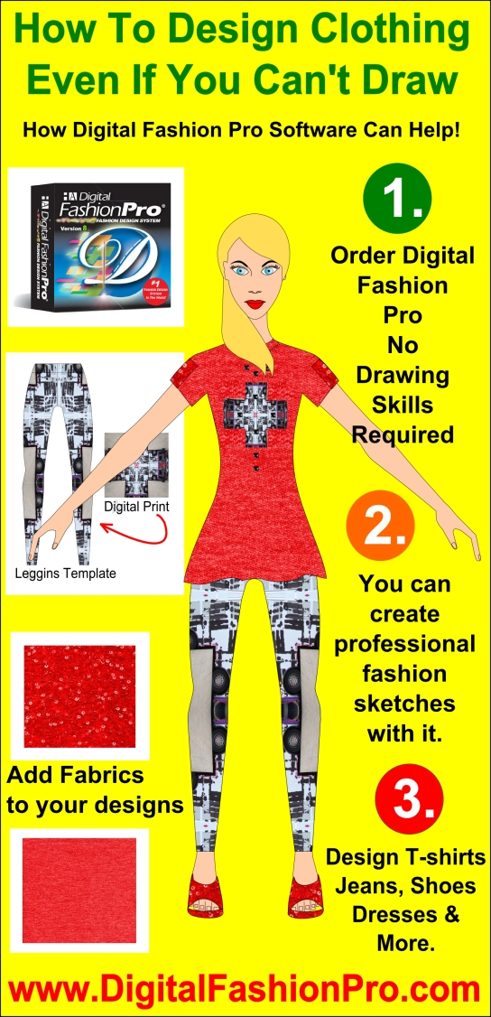 How To Design Clothing Infographic