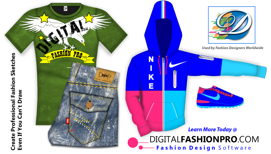 digital fashion pro - store - fashion designing software - start a clothing line