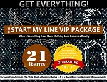 1g - The Start My Line VIP Package - Our Largest Package! 21 Items! Includes Everything In Style Blast + Designer Series 1 & 2 + Spec Book