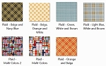 EVF Plaid Part 1 Fabrics for DFPro