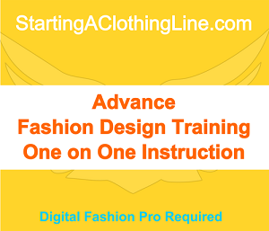 xBServ - Advance Fashion Design Training Option 1 - 1 Hour Session