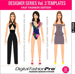 7be- Designer Series Templates Volume 3 - Womens Wear By Designer Michael H. - Electronic Item