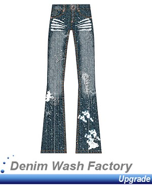 3- Denim Wash Factory Upgrade - Make your denim look fabulous. Use this upgrade to add simulated treatment to the jeans you create in Digital Fashion Pro.