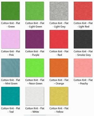 EVF Cotton Part 2 Fabrics for DFPro