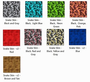 EVF Snake Skin Part 2 Fabrics for DFPro