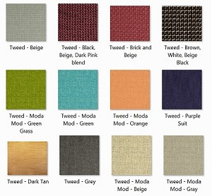 EVF Tweed Part 1 Fabrics for DFPro